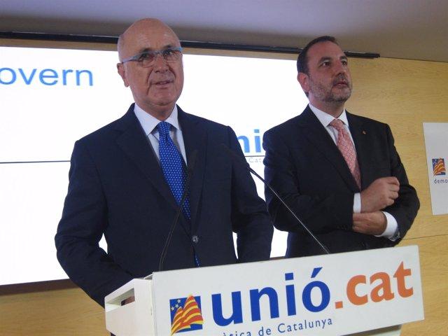 Josep Antoni Duran, Ramon Espadaler (UDC)