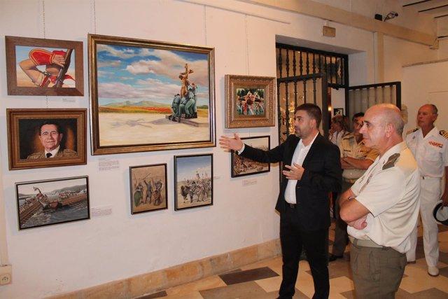 Exposición en el Museo Militar de Sevilla