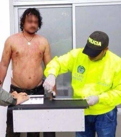 Miembro de la banda 'Los Úsuga' amenazó a la Policía cuando era capturado