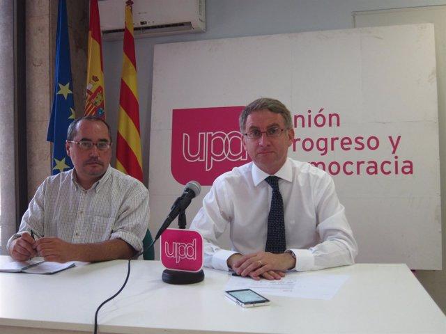 Ramón de Veciana y Miguel del Amo Bonilla (UPyD)