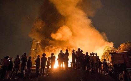 Un incendio en una favela de Sao Paulo deja a más de 1.000 personas sin hogar
