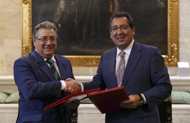 Fundación Cajasol y Ayuntamiento colaboran en la Bienal