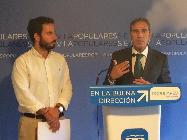 Sobrados (I) y Vitorio (D)