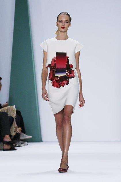 Carolina Herrera presenta su colección Primavera 2015 en la Semana de la Moda de Nueva York