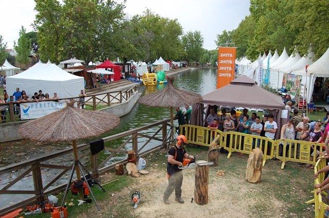 Feria rayana celebrada en Moraleja