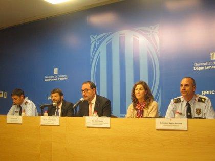 Más de 2.300 mossos velarán por la seguridad de la Diada