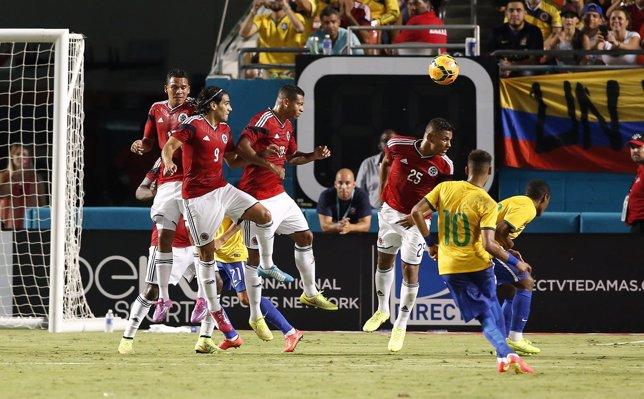 Brasil Colombia Neymar