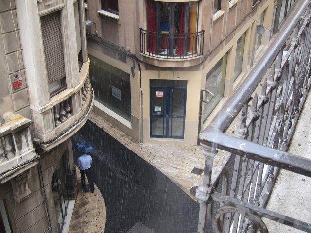 Lluvia, tormenta, Murcia