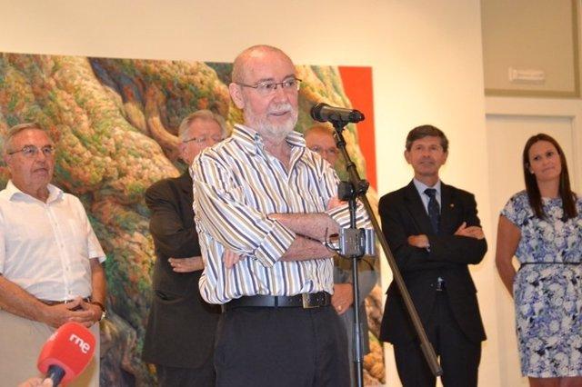 Inauguración de la exposición 'Biot, la poesía de la naturaleza'.