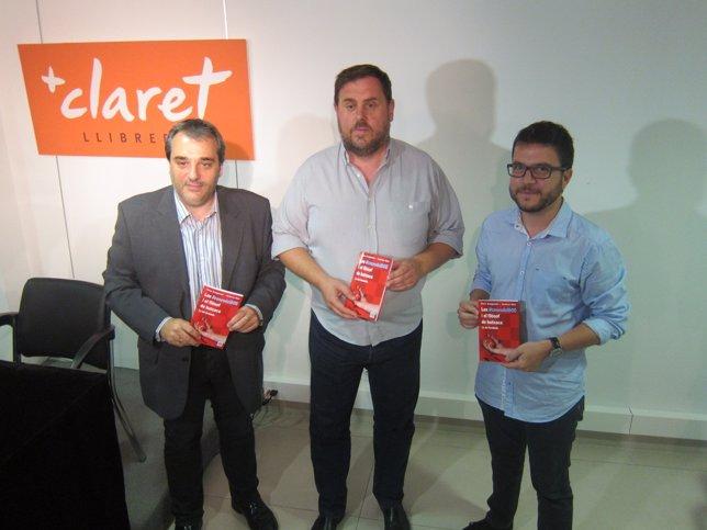 Andreu Mas (periodista), Oriol Junqueras, Pere Aragonès (ERC)