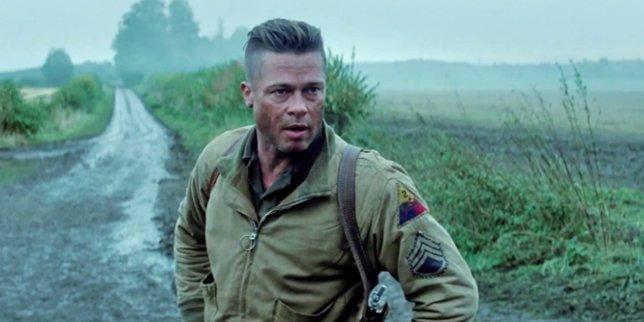 Brad Pitt En Corazones De Acero (Fury)
