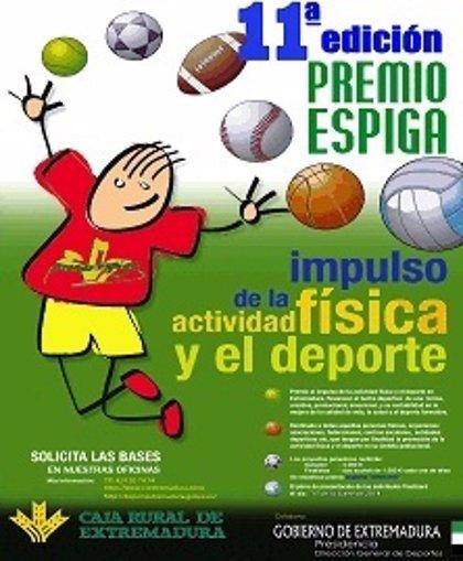 Los XI Premios Espiga Impulso de la actividad física y el deporte repartirá 7.000 euros en premios