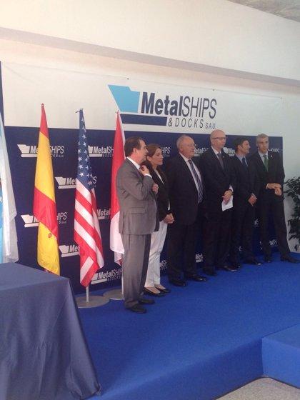 El astillero vigués Metalships entrega su tercer barco para la multinacional americana McDermott