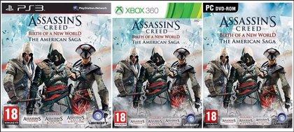 Anuncian pack de Assassin's Creed con los títulos de América