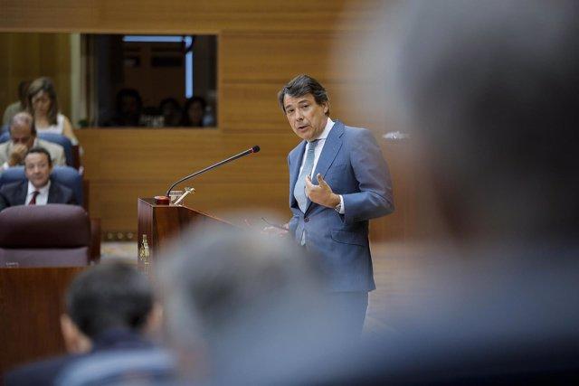 Ignacio González en el Debate del Estado de la Región