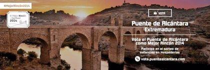 El Puente de Alcántara avanza en su carrera para ser el 'Mejor Rincón 2014'