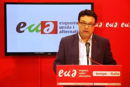 Nuet (EUiA) pide una alianza de partidos y movimientos sociales