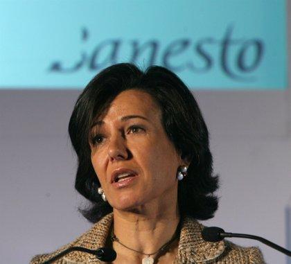 Economía.- El consejo del Santander designará esta tarde al nuevo presidente del banco