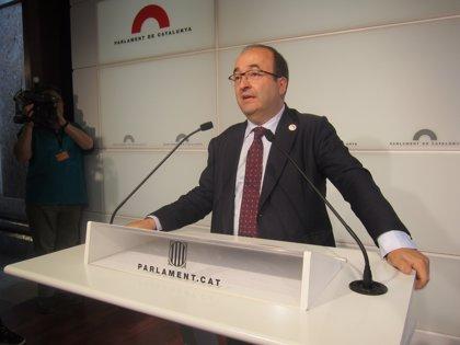 """Iceta (PSC) desea que el Grupo Santander siga """"tan potente y pujante"""" en el futuro"""