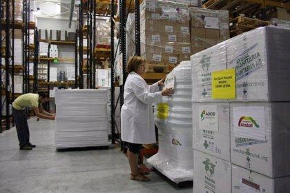 Extremadura financia el envío de material sanitario a Sierra Leona para diagnóstico y tratamiento de ébola