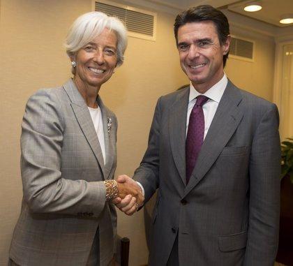 """Soria coincide con Lagarde en la mejora """"significativa"""" de la economía española"""