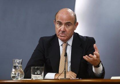 """Economía/Botín.- Guindos lamenta la pérdida de """"uno de los grandes banqueros"""" de España y Europa"""