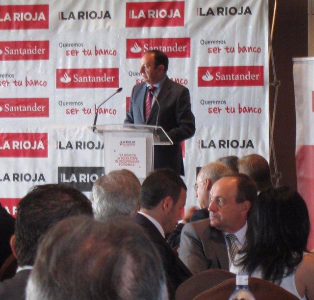 Pedro Sanz, en su intervención
