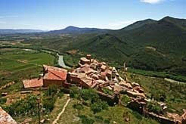 Vista de Gallipienzo.