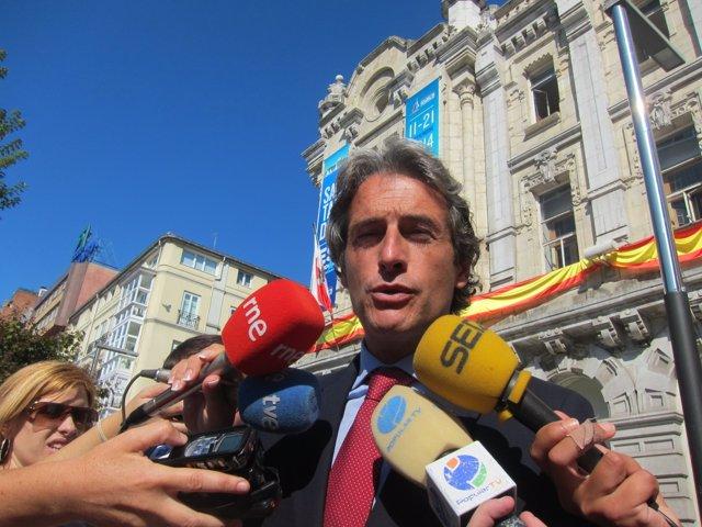 Iñigo de la Serna, alcalde de Santander, lamenta la muerte de Botín