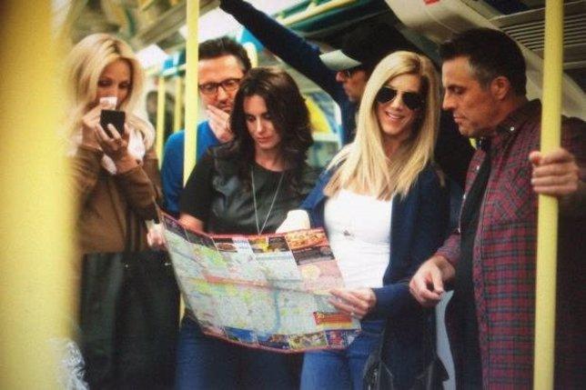 La falsa reunión londinense de Friends