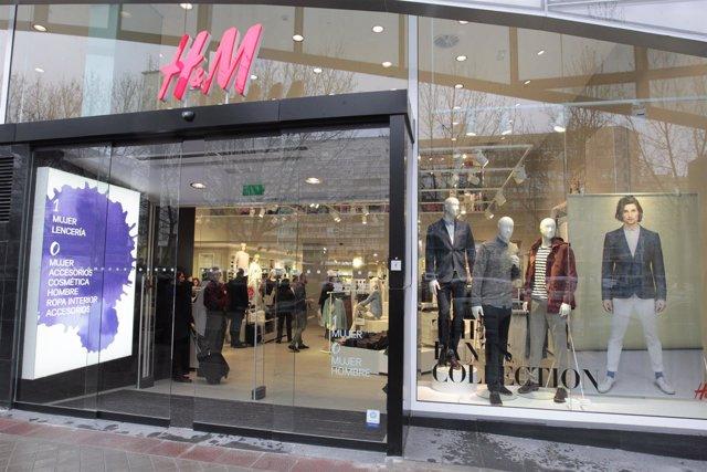 Tienda de H&M en Castellana 200
