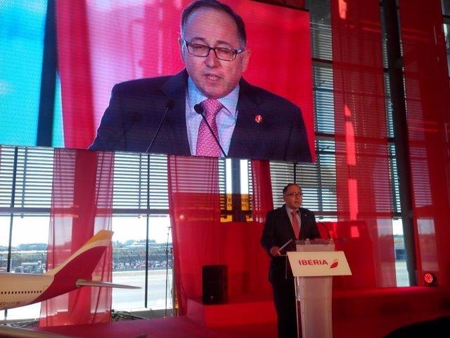Luis Gallego, consejero delegado de Iberia