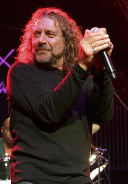 Robert Plant, ex cantante de Led Zeppelin