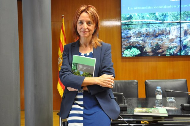 La presidenta del CESA, Natividad Blasco