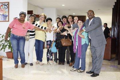 Llega a La Habana el segundo grupo de víctimas para participar en el diálogo de paz