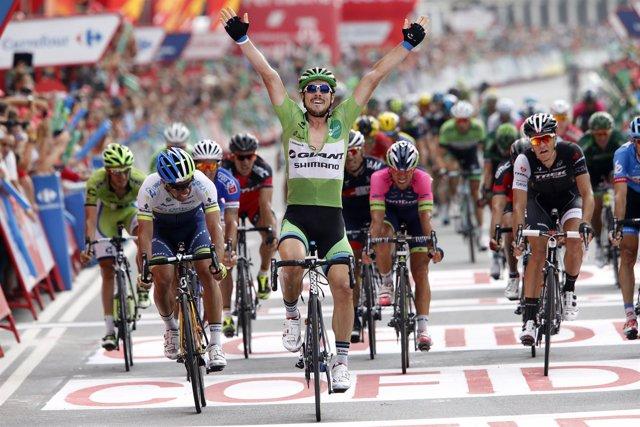 John Degenkolb gana su cuarta etapa en La Vuelta