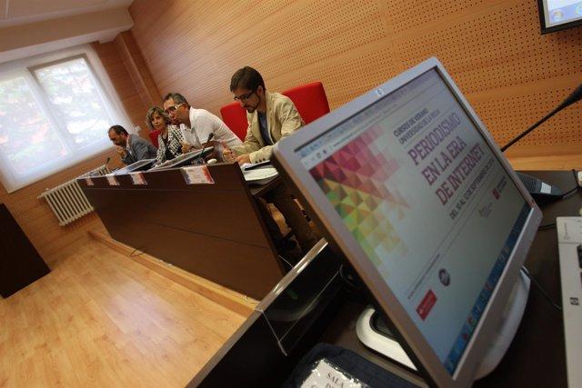 Curso de periodismo en internet en la Ur