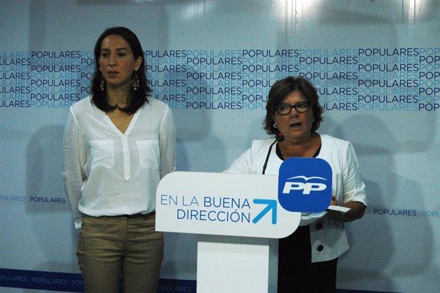 Rafaela Obrero y Dolores Sánchez