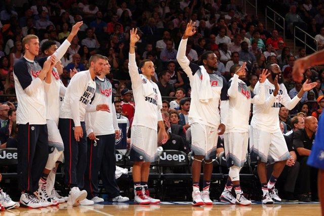 La selección de baloncesto de Estados Unidos