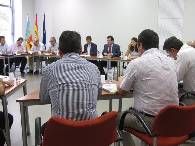 Císcar preside la reunión de la comisión de seguimiento sobre el veto ruso.