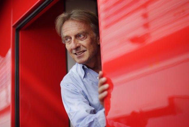 El presidente de Ferrari, Luca di Montezemolo