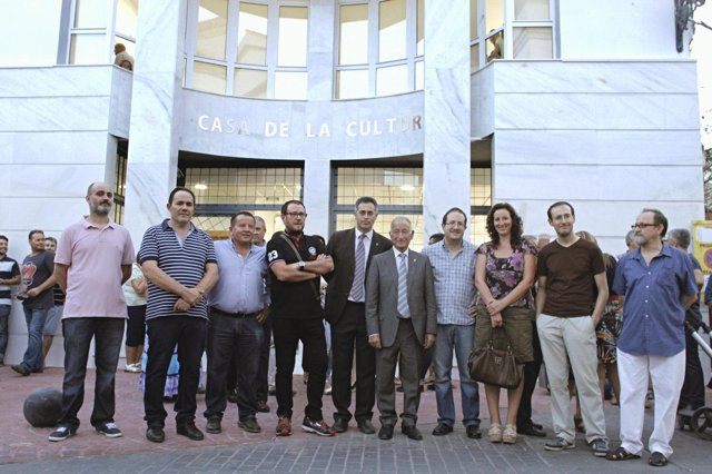 Inauguración de la Casa de la Cultura de Olula del Río