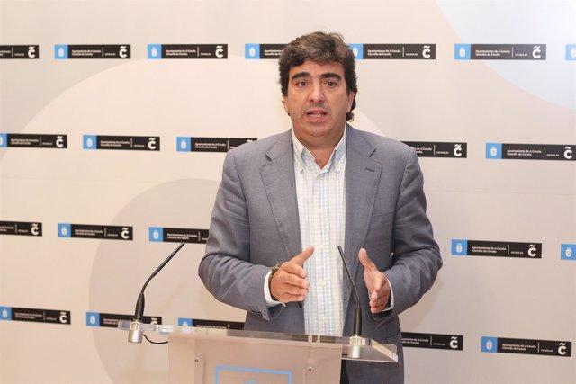 Martín Fernández presenta la Carpa Smart