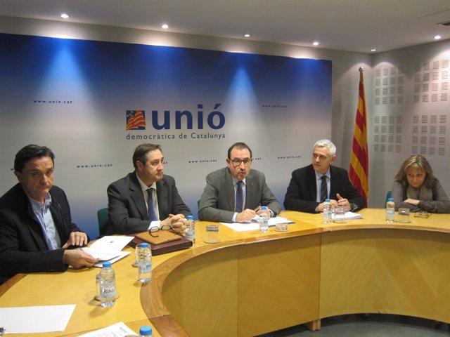 B.Maimí, J.M.Pelegrí, R.Espadaler, A.Font i M.Jou.