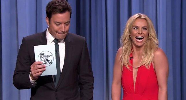 Jimmy Fallon y Britney Spears