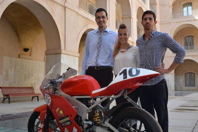 Pedro José Conesa Sánchez, María Belén Pérez Muñoz y Celestino López Jiménez