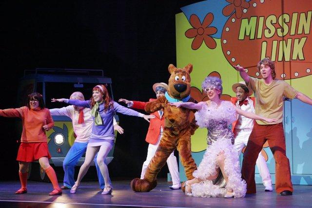 Show Scooby-Doo en Bahía Sur