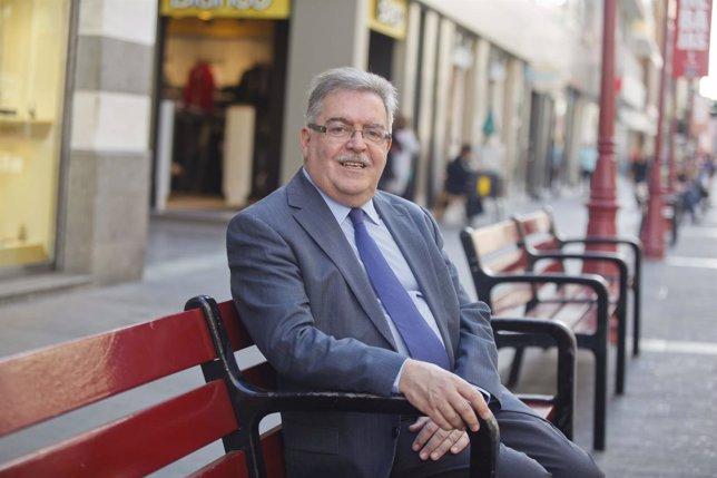 El Candidato Del PP Al Cabildo De Gran Canaria, José Miguel Bravo De Laguna