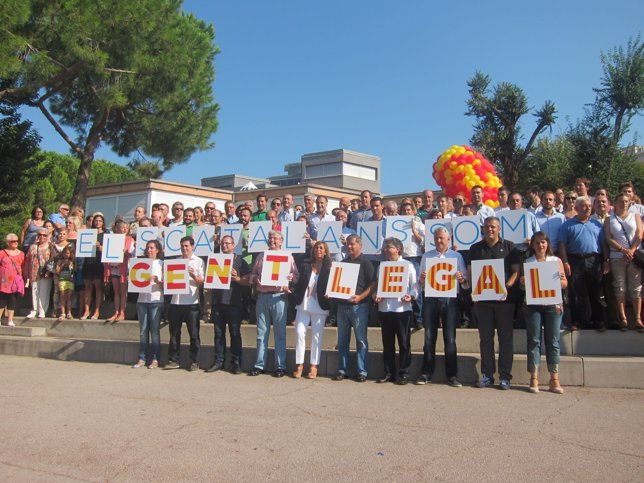 Acto del PP en Barcelona con motivo de la Diada