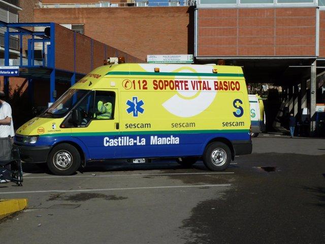 Ambulancia soporte vital basico Sescam